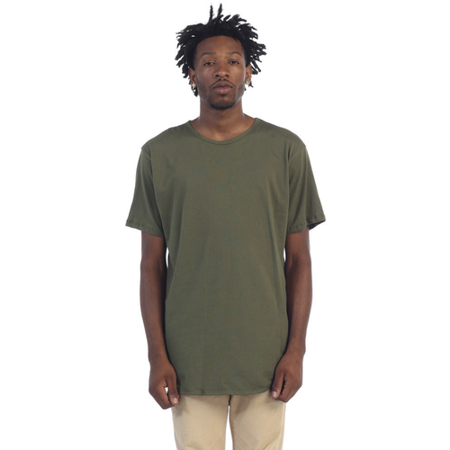 EPTM Plain Long Olive Tees