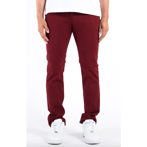 BlackWood Oxford Maroon Jeans