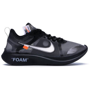 Nike Zoom Fly Off-White - Black Silver