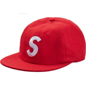 Supreme Wool S Logo 6-Panel FW19 - Red