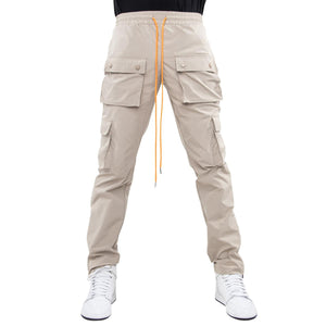 EPTM Khaki Snap Cargo Pants (w/Pull Strings)
