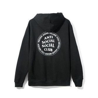 Anti Social Social Club Never You Hoodie - Black