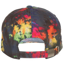Load image into Gallery viewer, Ice Cream Tie Dye Cone and Bones Polo Hat (401-4804)