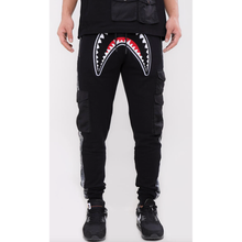 Load image into Gallery viewer, Hudson Utility Sharks Mouth Joggers Black (H4052931)