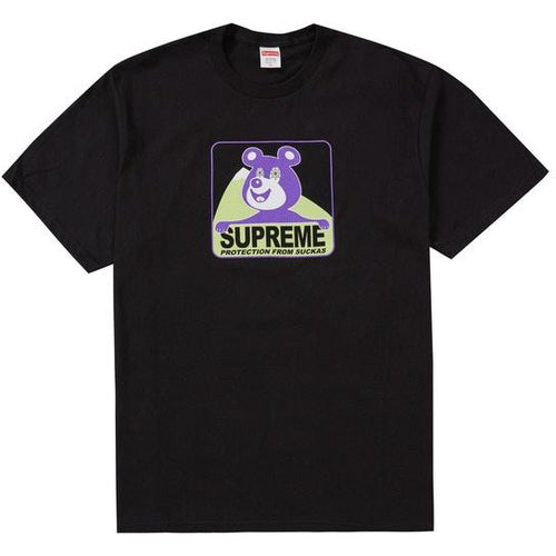 Supreme Bear Tee - Black