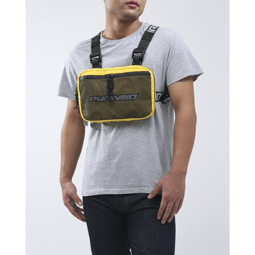 Black Pyramid Yellow Chest Rig Bag
