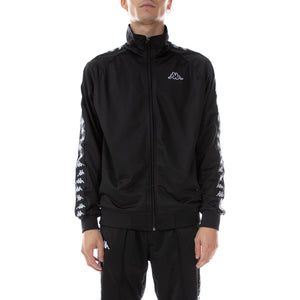 Kappa Black 222 Banda Anniston Track Jacket (3502050-J61) In Stock