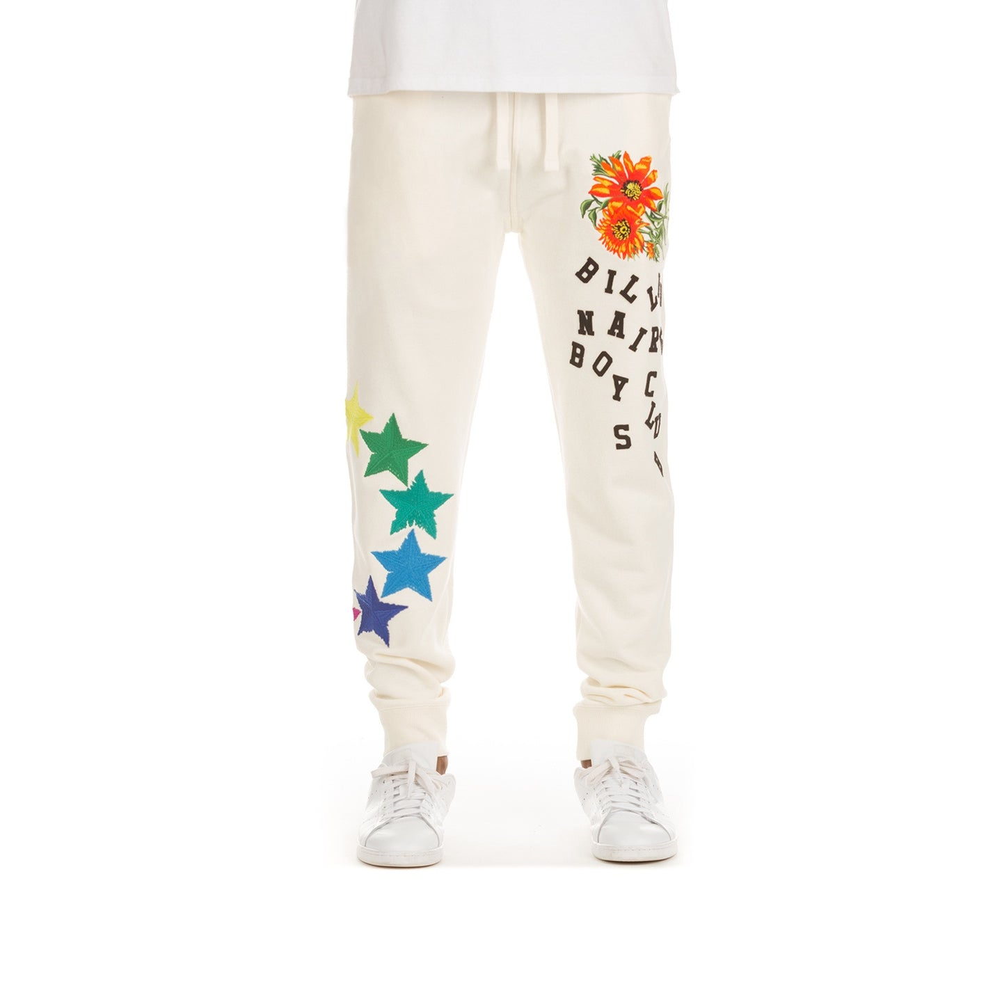 BBC Whisper White BB Star Joggers (801-1103)