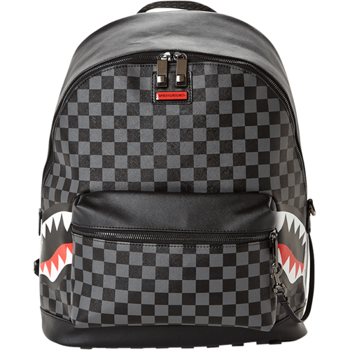 Sprayground Grey Side Sharks in Paris Backpack (B2806)