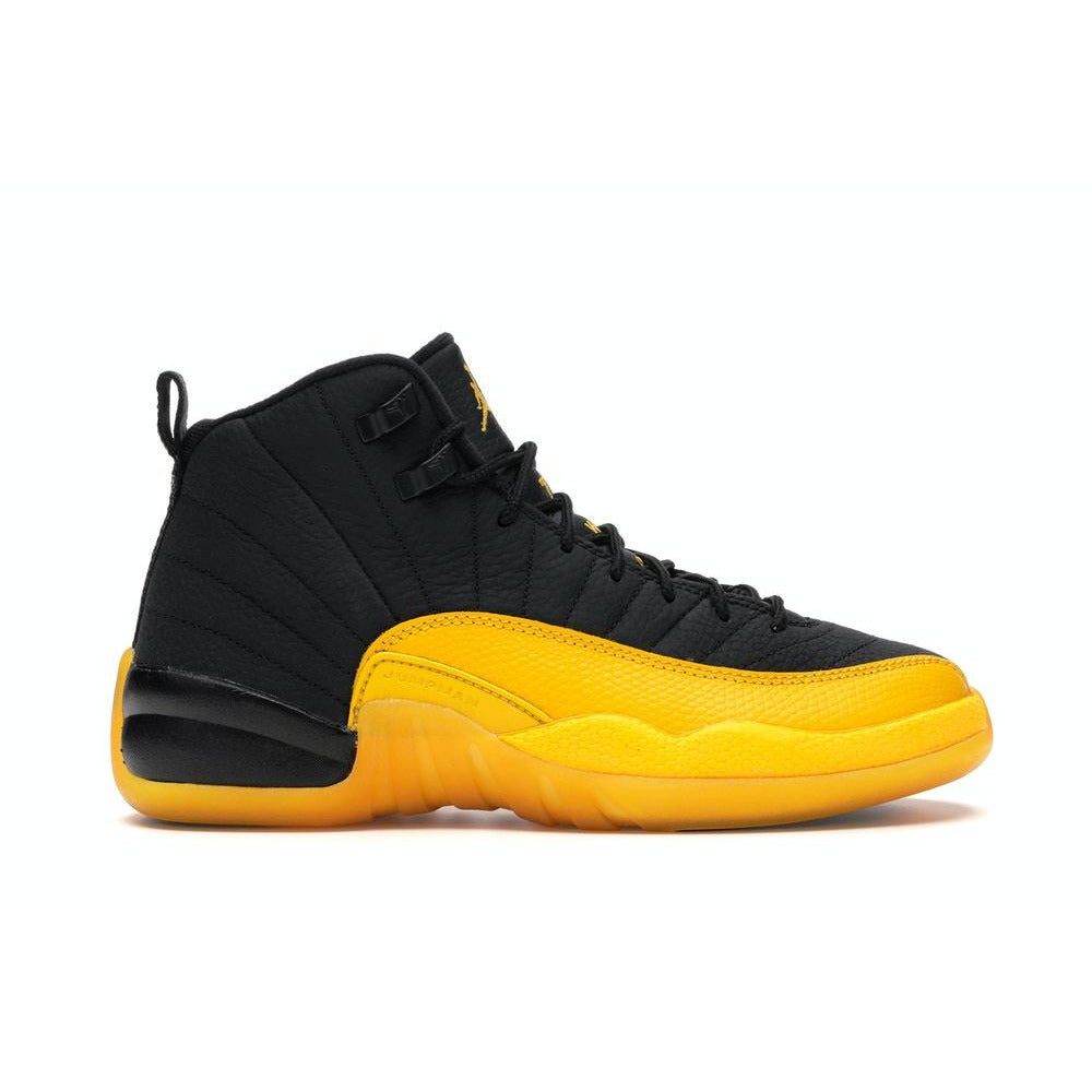 Jordan 12 Retro - Black/University Gold (GS)