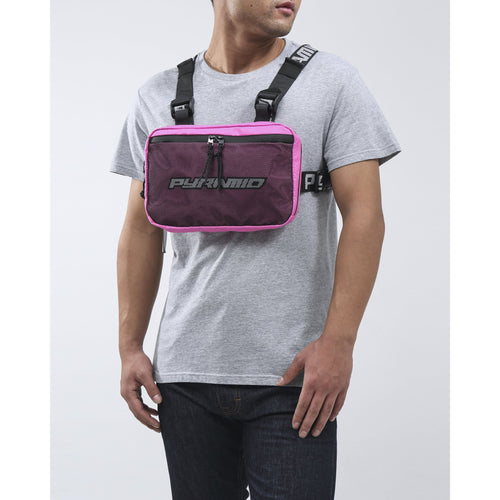 Black Pyramid Pink Chest Rig Bag