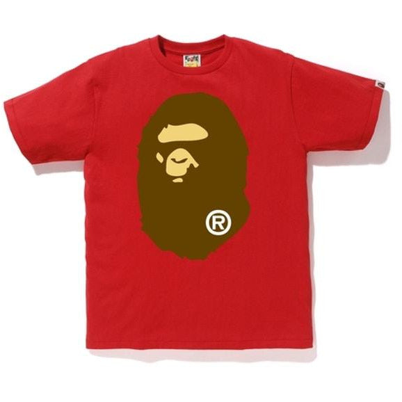 BAPE Big Ape Head Tee - Red