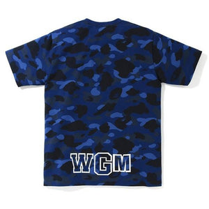 BAPE Color Camo Shark Tee - Blue
