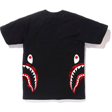 Load image into Gallery viewer, BAPE Color Camo Side Shark Tee - Black/Red