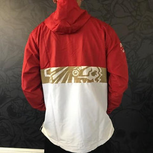 SAVS Gold Blooded Chiefs Anorak Red/White Jacket