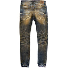Load image into Gallery viewer, Jordan Craig Cognac Tinted Blast Denim Jeans (JM3313)