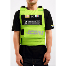 Load image into Gallery viewer, Hudson ICONS Reflective Body Vest in Green