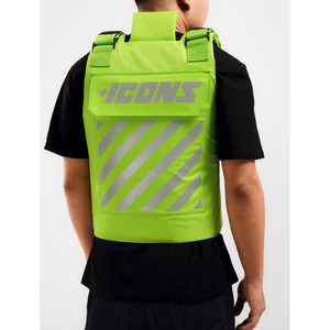 Hudson ICONS Reflective Body Vest in Green