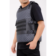 Load image into Gallery viewer, Hudson Black LUX Checkered Body Vest