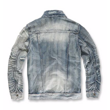 Load image into Gallery viewer, Jordan Craig Aged Wash Denim Jacket