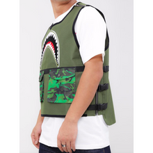 Load image into Gallery viewer, Hudson Utility Sharks Mouth VEST OLIVE (H6052932)