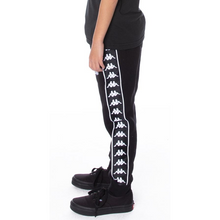 Load image into Gallery viewer, KIDS Kappa Black 222 Banda Alanz Track Pants (304KPN0Y-929)