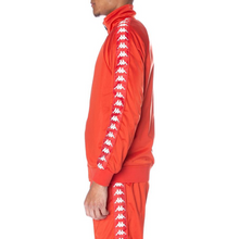 Load image into Gallery viewer, Kappa Red/White 222 Banda Anniston Track Jacket In Stock