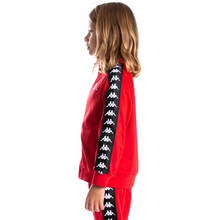 Load image into Gallery viewer, KIDS Kappa Red/Black 222 Banda Anniston Track Jacket (3502050Y-J65)