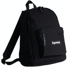 Load image into Gallery viewer, Supreme Canvas Backpack - Black