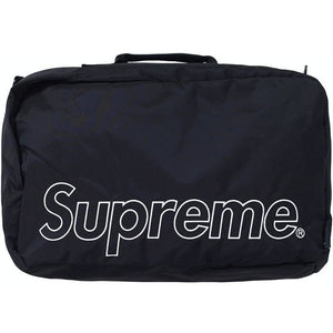 Supreme Duffle Bag (FW19) - Black