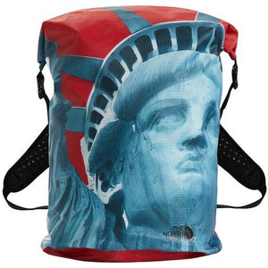 Supreme The North Face Statue of Liberty Waterproof Backpack - Red