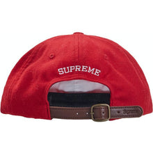 Load image into Gallery viewer, Supreme Wool S Logo 6-Panel FW19 - Red