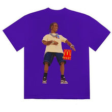 Load image into Gallery viewer, Travis Scott x McDonald's Action Figure Series II T-Shirt - Purple