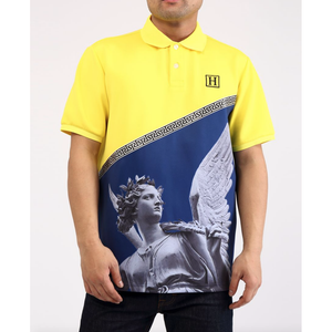 Hudson Yellow Greek Goddess Polo (H1052710-YEL)