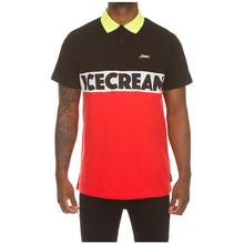 Load image into Gallery viewer, Ice Cream Black Icecream SS Polo (401-4301)