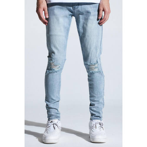 Karter Light Indigo Wood Denim Jeans (KARHOL20-101)
