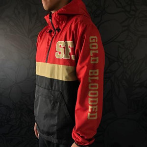 SAVS Gold Blooded Chiefs Anorak Red/Black Jacket