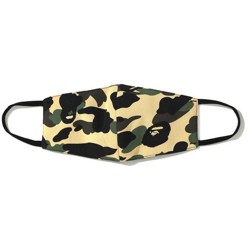BAPE Full 1st Camo Mask - Yellow