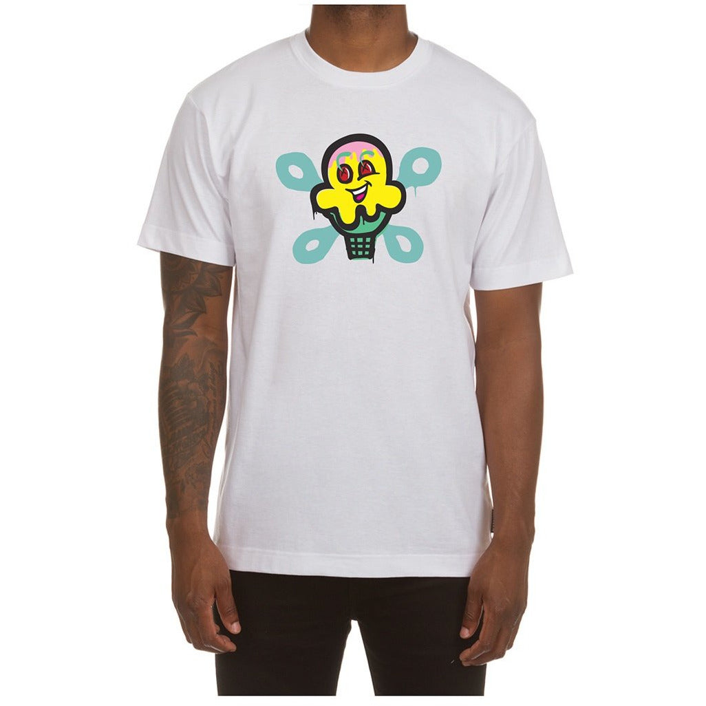 Ice Cream Wrench SS White Tee (401-6202)