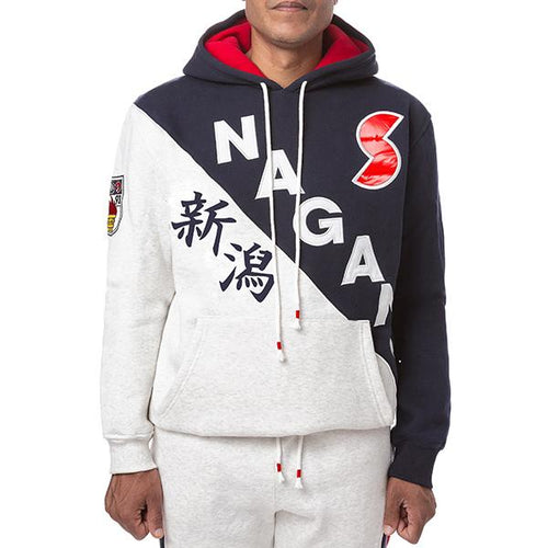 Iro-Ochi Nagano Grey Heather Hoodie