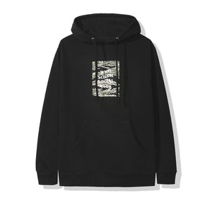 Anti Social Social Club Tiger Camo Box Hoodie - Black