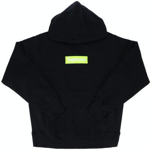 Supreme Box Logo Hooded Sweatshirt (FW17) - Black
