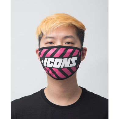 Hudson ICONS Face Mask in Pink
