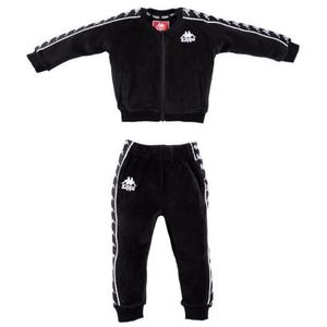 KIDS/Infant Kappa Black 222 Banda Sbain Track Suit (304N1F0K-923)