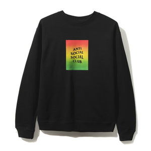 Anti Social Social Club Kingston Crewneck - Black