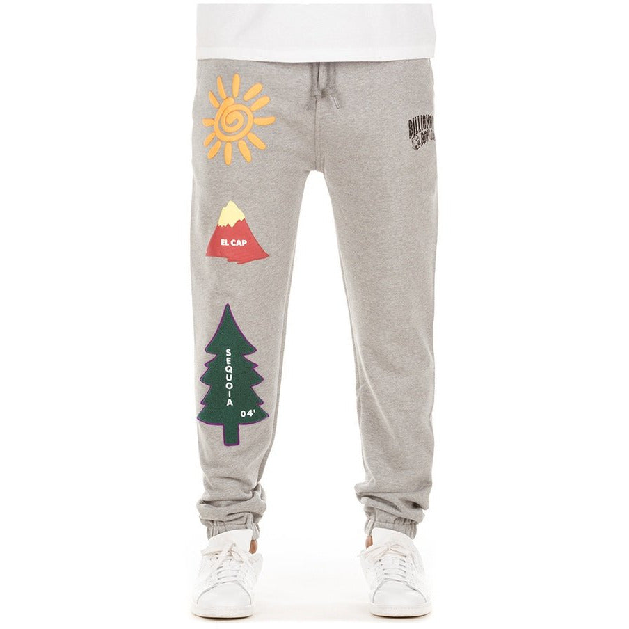 BBC Heather Grey BB Sunrise Sweat Pants (801-7101)