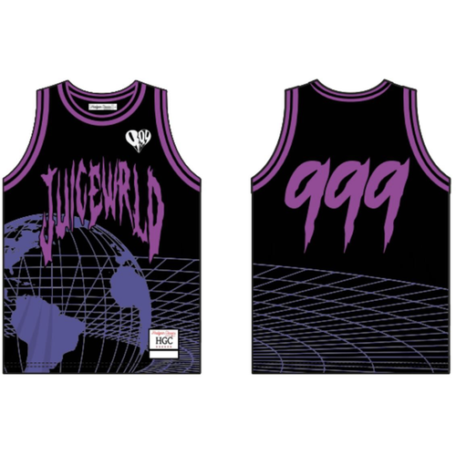 Headgear Juice World Globe Black BBJ Jersey