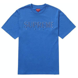 Supreme Gradient Logo Tee - Blue