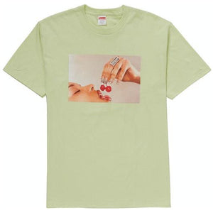 Supreme Cherries Tee - Pale Mint