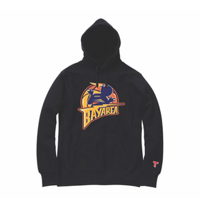 THIZZ Bay Area Warriors Black Hoodie